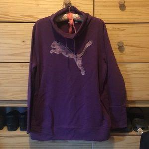 XL Puma Funnel Neck Sweatshirt